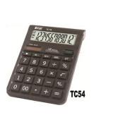 CALCULADORA ECAL TC54 12 DIG.MED.A PILA