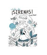LIBRO  P/LEER Y PINTAR VIDA DE...¡SIRENAS! - 1455