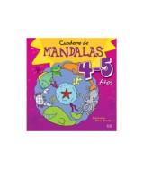 LIBRO CUADERNO DE MANDALAS P/COLOREAR 4-5 AÑOS - 1006