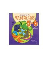 LIBRO CUADERNO DE MANDALAS P/COLOREAR 5-6 AÑOS - 1007