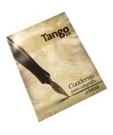 CUADERNO CALIGRAFIA TANGO DOBLE RAYA 24hj.- 115-226
