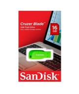 PEN DRIVE SANDISK CRUZER BLADE VERDE 16GB