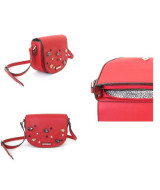CARTERA BANDOLERA MILLION C/GEMAS VS COLORES 19x23cm.- 17605