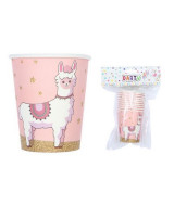 VASOS DESCARTABLE LLAMAS BOLSA x10un - 23181