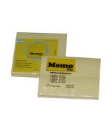 BLOCK NOTAS MEMOFIX 46x37mm.AMAR.-100-P.x4 Un.