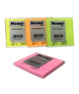 BLOCK NOTAS MEMOFIX- x80HJ-75x75mm.NEON-603