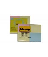 BLOCK NOTAS MEMOFIX 200XS PASTEL 46x37mm.-BL.x4 Un.