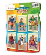 ENCASTRES DIDACTICOS - SUPER HEROES 39x29cm.- 111