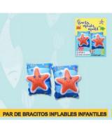 BRACITOS INFLABLES INFANTILES DECORADOS 15x25cm. - 1037N