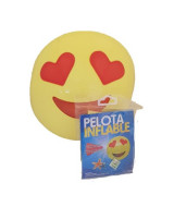 PELOTA INFLABLE EMOTICON EN BOLSA 41cm. TP7806 -1001N