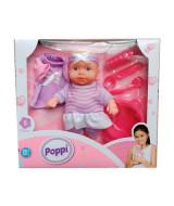 POPPI - BEBE CON CAMBIOS DE ROPA 20 cm  -  8830