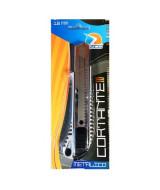 CUTTER C/GUIA METALICA ANCHO 18mm.- 510104