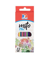 LAPICES DE COLOR EZCO MITO LARGOS - CAJAx12un.