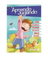 APRENDO JUGANDO TAPA AZUL - 2335