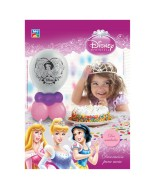 KIT DECORACION C/GLOBOS PRINCESAS P/MESA 10042