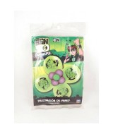 KIT DECOR.C/GLOBOS BEN10 FLOR PARED 10212
