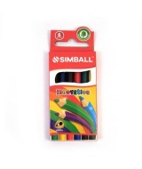 LAPICES DE COLOR INNOVATION SIMBALL CORTOS - EST.x6un.